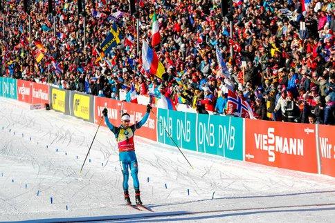 Martin Fourcade remporte la poursuite de Tyumen en Russie