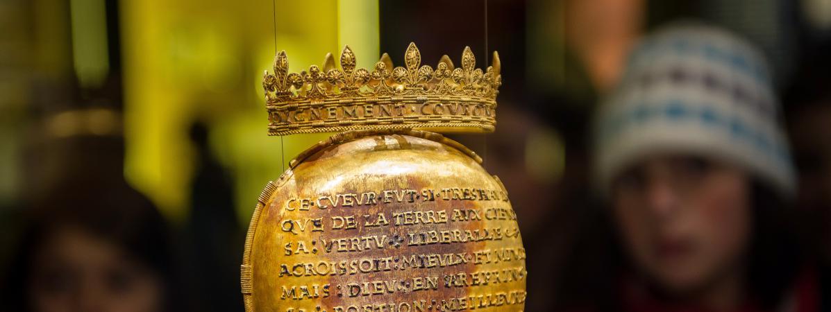 L'écrin du cœur d'Anne de Bretagne dérobé à Nantes :