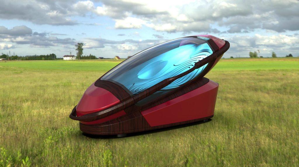 Sarco : cette machine vous invite à mourir en douceur et avec poésie